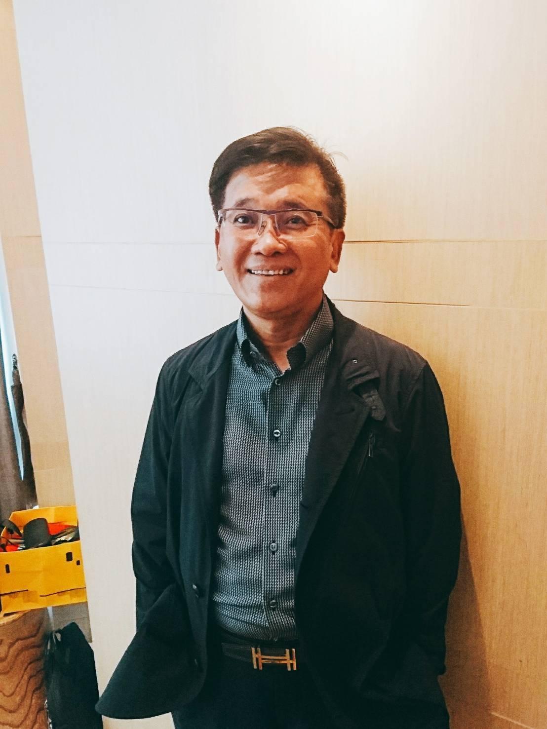 台驊投控董事長顏益財。記者韓化宇/攝影