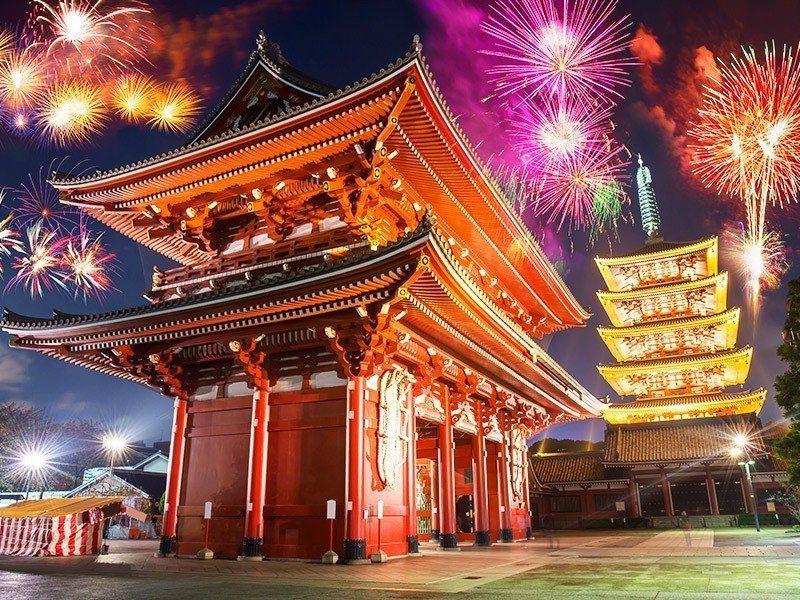 以易遊網的開票結果看來,東京跨年今年居次。圖/易遊網提供