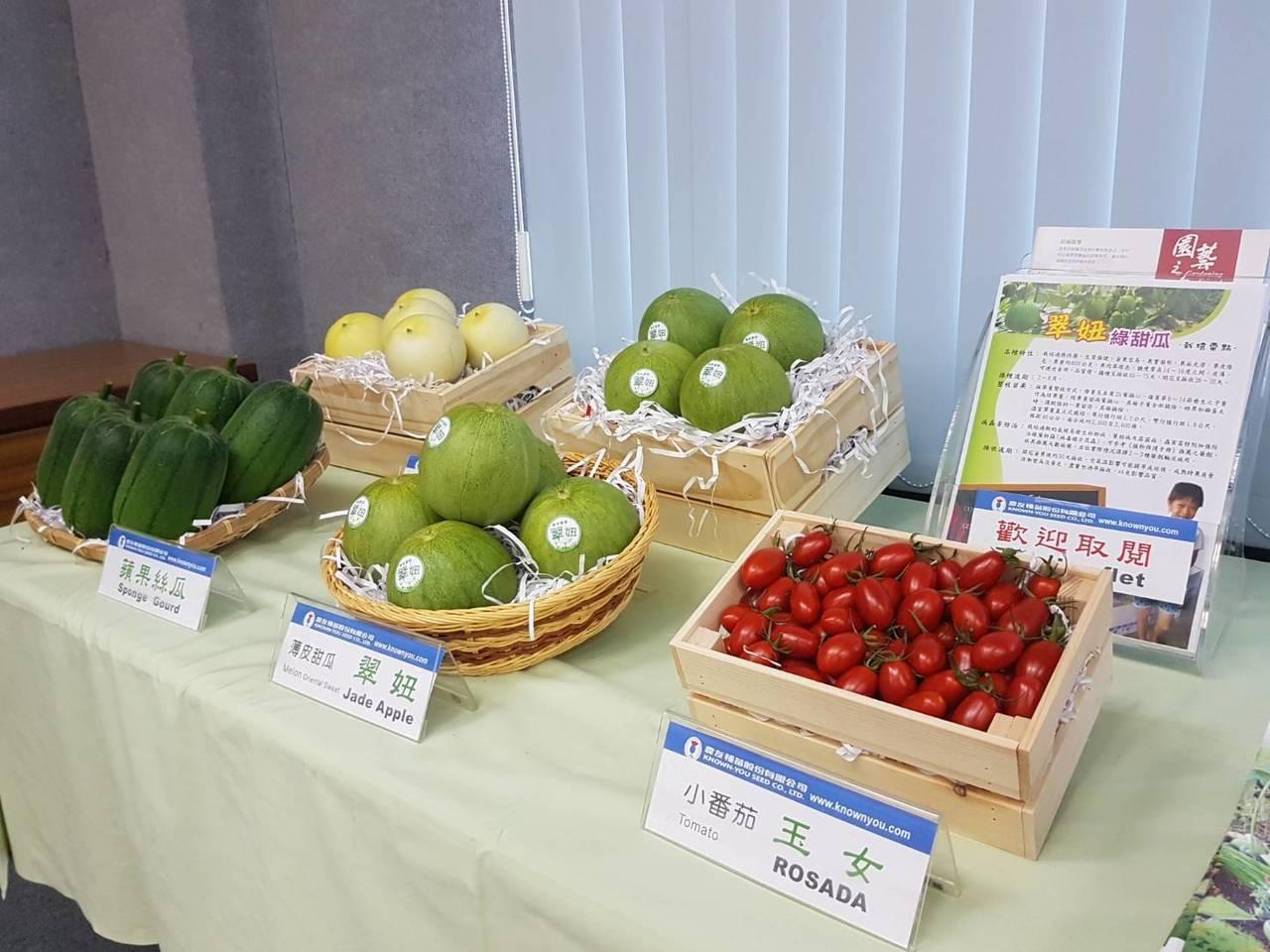 透過分子輔助育種技術可篩選出作物基因中耐高溫、抗蟲病等性狀,有助於幫助水果外觀更...