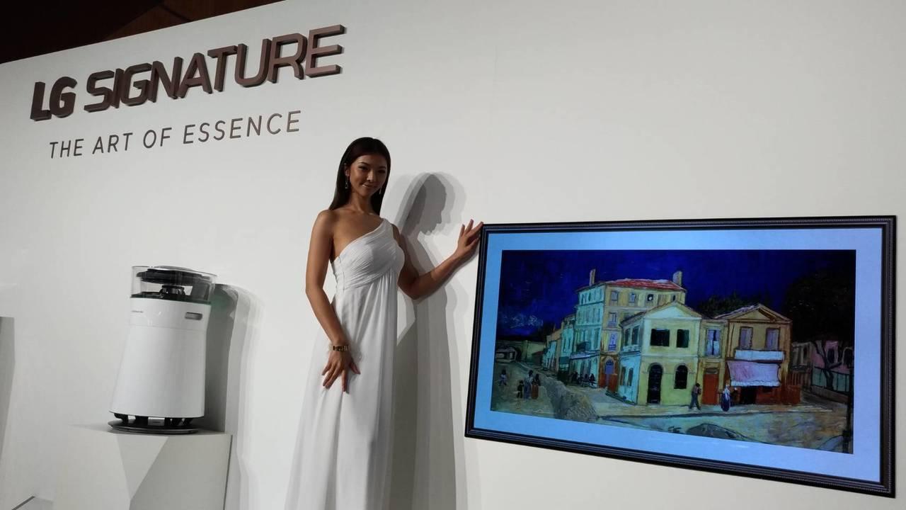 LG SIGNATURE OLED TV W8獲得超過40項國際獎項,搭載4毫米...