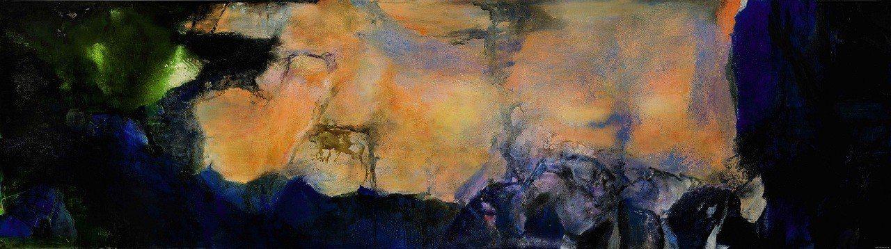 旅法藝術家趙無極平生創作尺幅最大油畫「1985 年6 月至10 月」,估價近14...