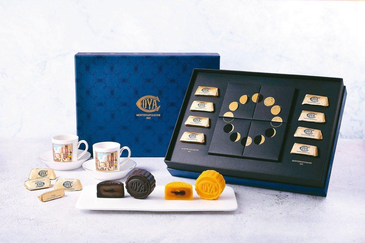COVA「品月藏饌中秋禮盒」1,280元。 圖/遠百提供