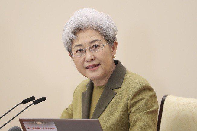 全國人大外事委員會副主任傅瑩。(中新社資料照片)