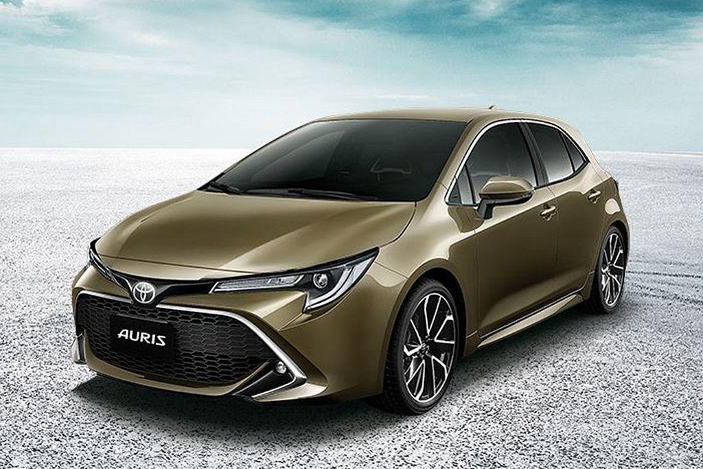 剛發表的Toyota Auris,搭載2.0L自然進氣引擎與CVT無段變速系統,...