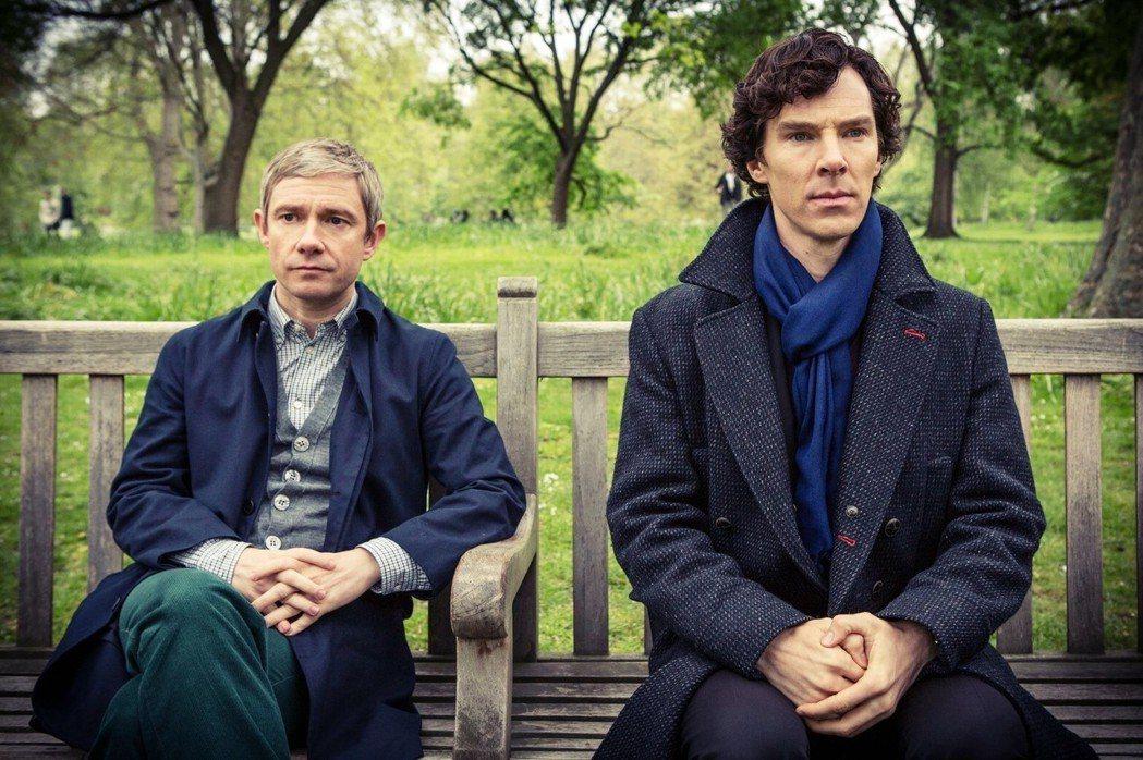 「請問您是Ben Cumber嗎?」「...不是。」 圖/《新世紀福爾摩斯》宣傳...