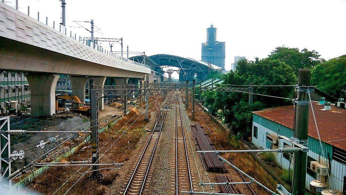 鐵路高架化改變了台中面貌,也豐富了城市的五臟六腑。 圖/臺中市政府 提供