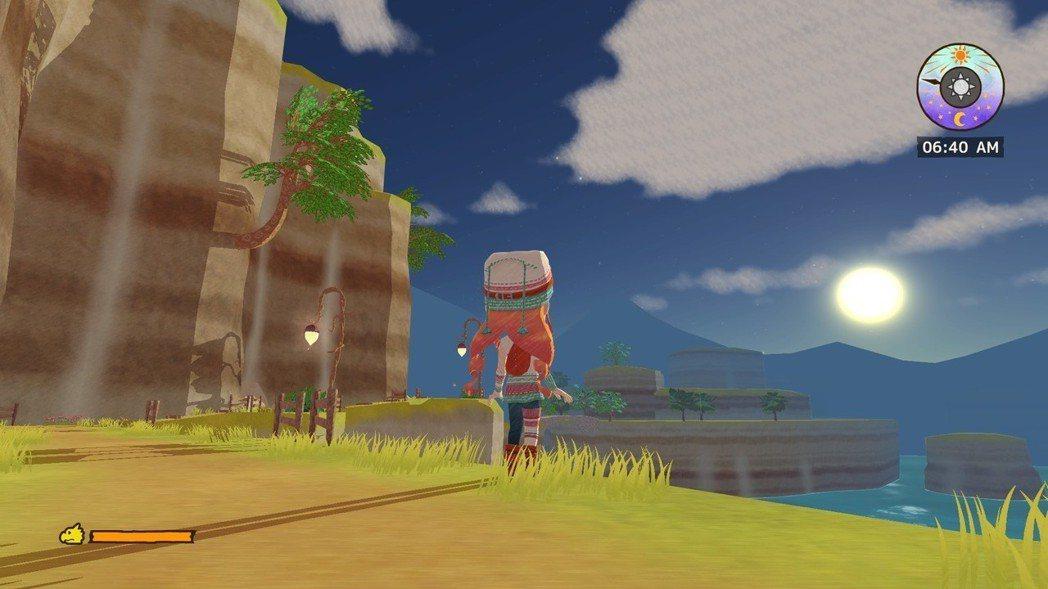 遊戲沒有限制一定要睡覺或是時間到就回家,可以在外頭找食材找到天亮。