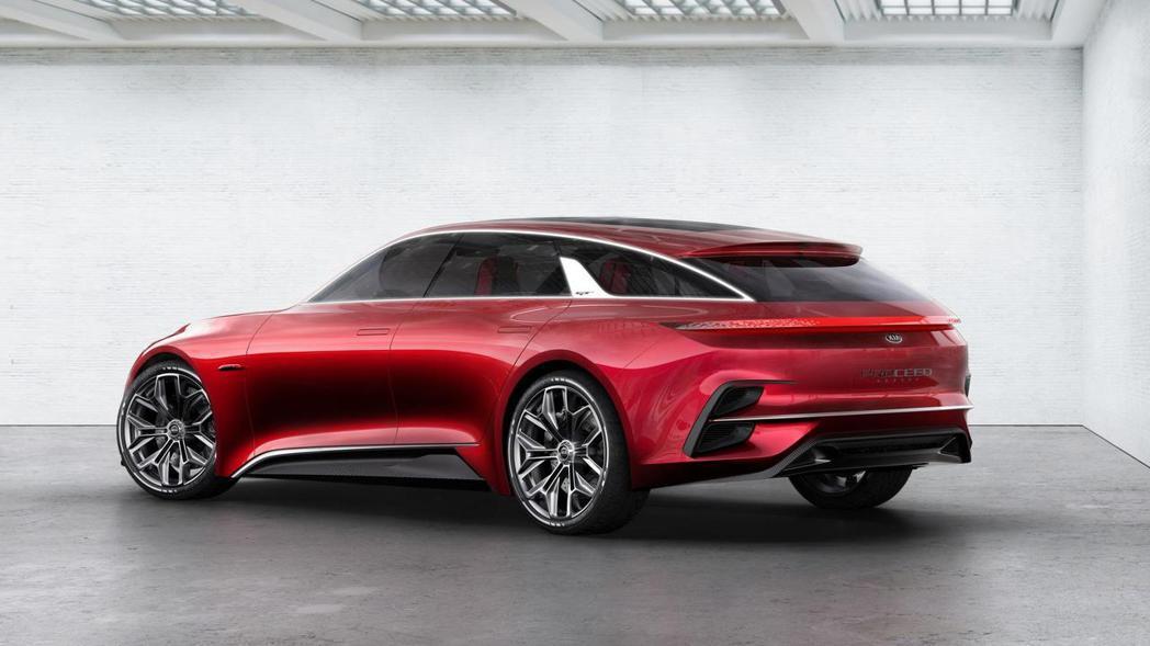 去年於法蘭克福車展上一鳴驚人的Kia Proceed Concept。 摘自Ki...
