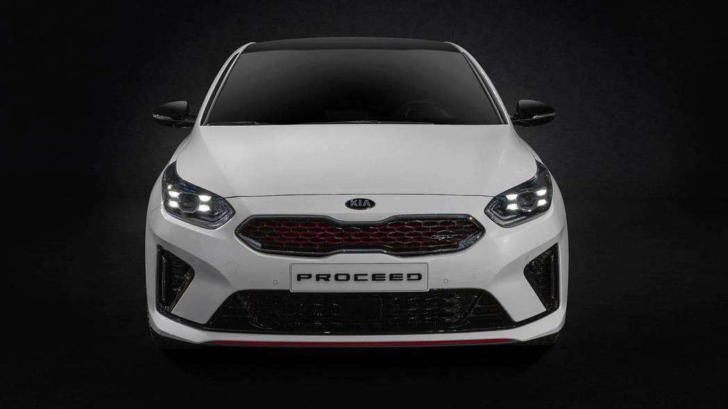 全新Kia ProCeed GT車型僅有1.6升汽油動力。 摘自Kia