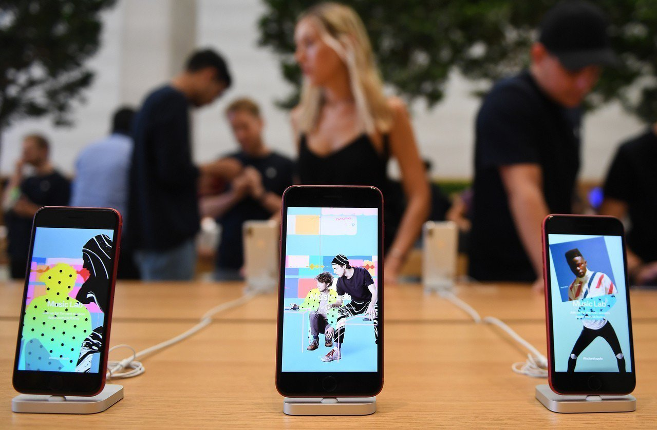 iPhone X推出尚未滿一年,在iPhone中市佔率就已有12%。 歐新社