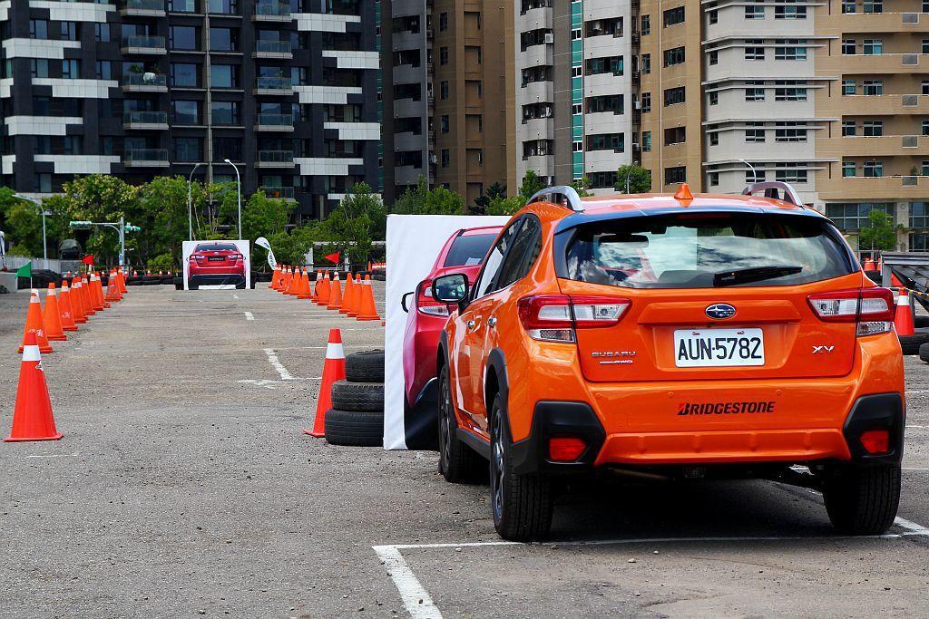 「Subaru核心科技試駕區」則有「EyeSight智能駕駛安全輔助系統」、「SGP全球模組化底盤」及「SAWD對稱式全時四輪驅動系統」等體驗項目。 記者張振群/攝影
