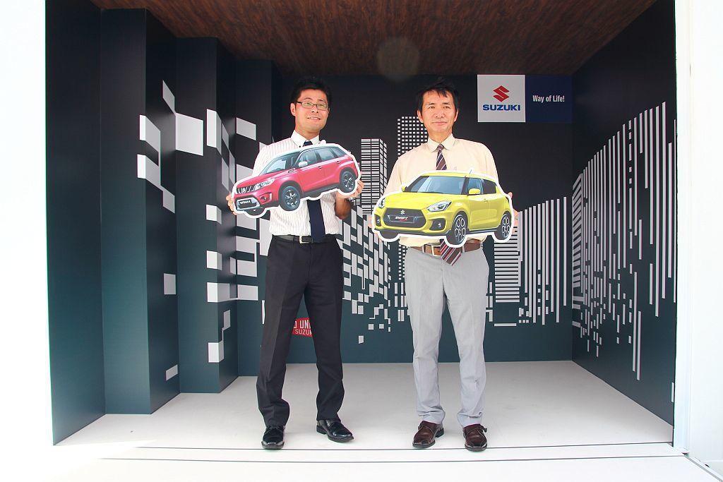 Suzuki現場更設有快閃貨櫃屋可供打卡拍照,還有互動遊戲區讓參與者有機會獲得精...