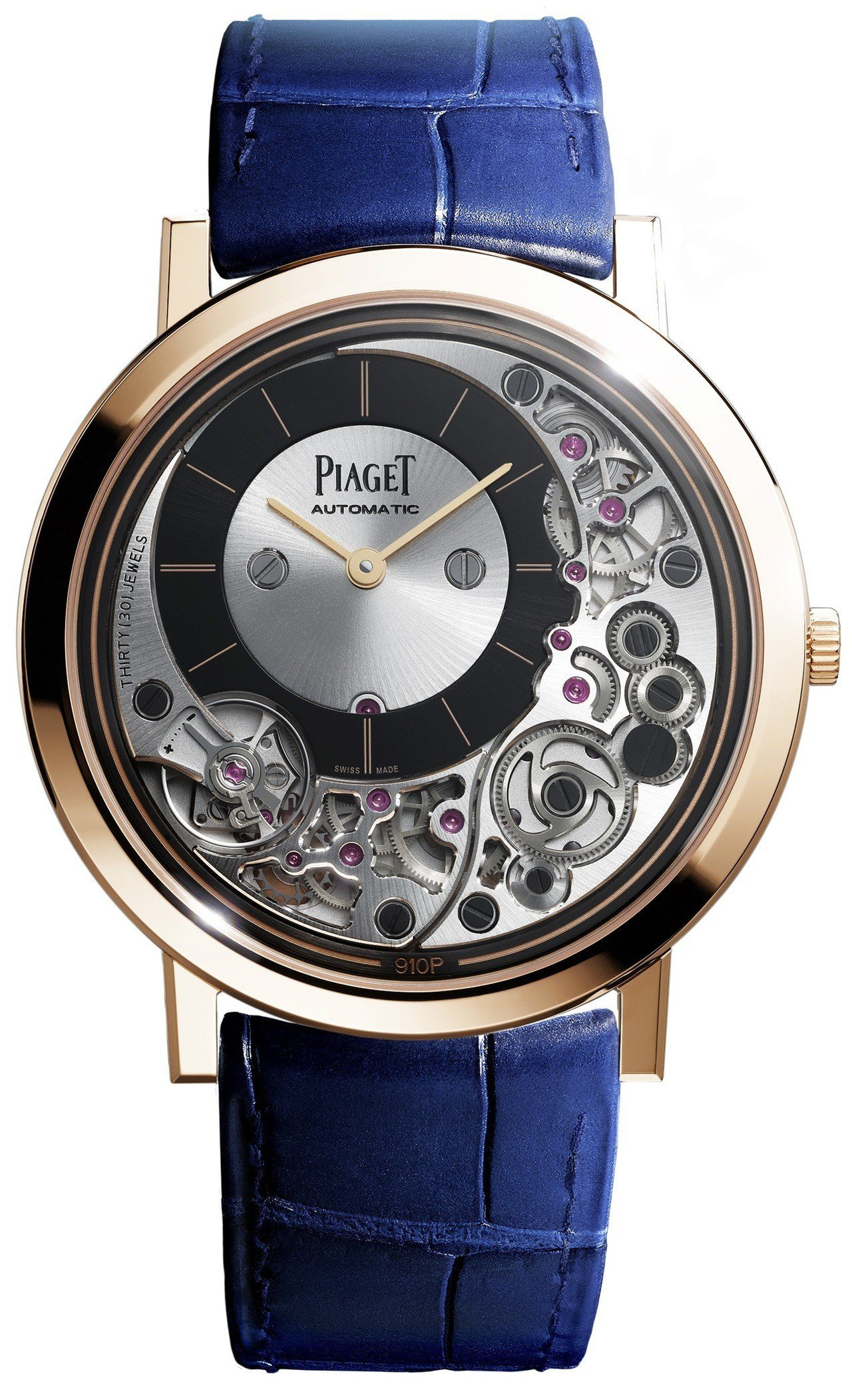 Piaget Altiplano Ultimate 910P,41毫米18K玫瑰...