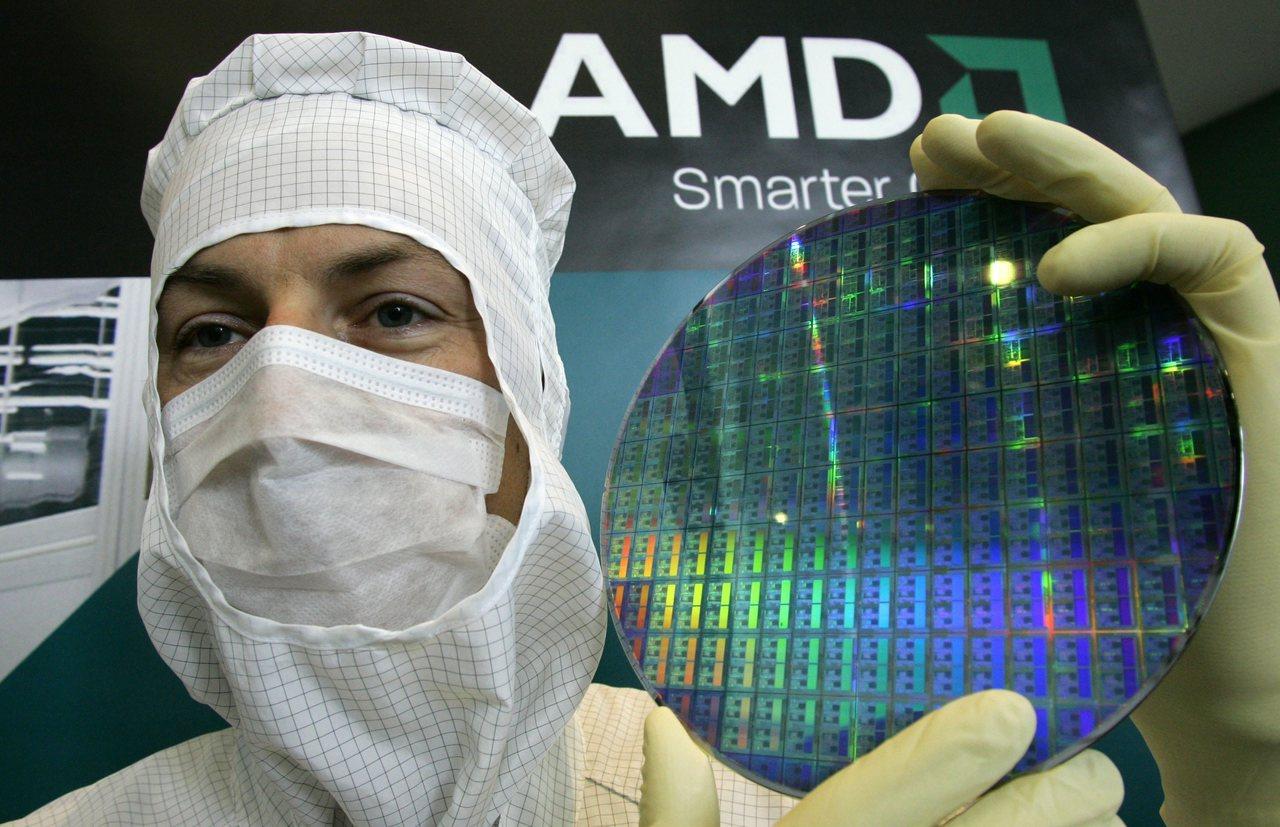AMD今年來股價表現出色,但周四重挫5%。 路透