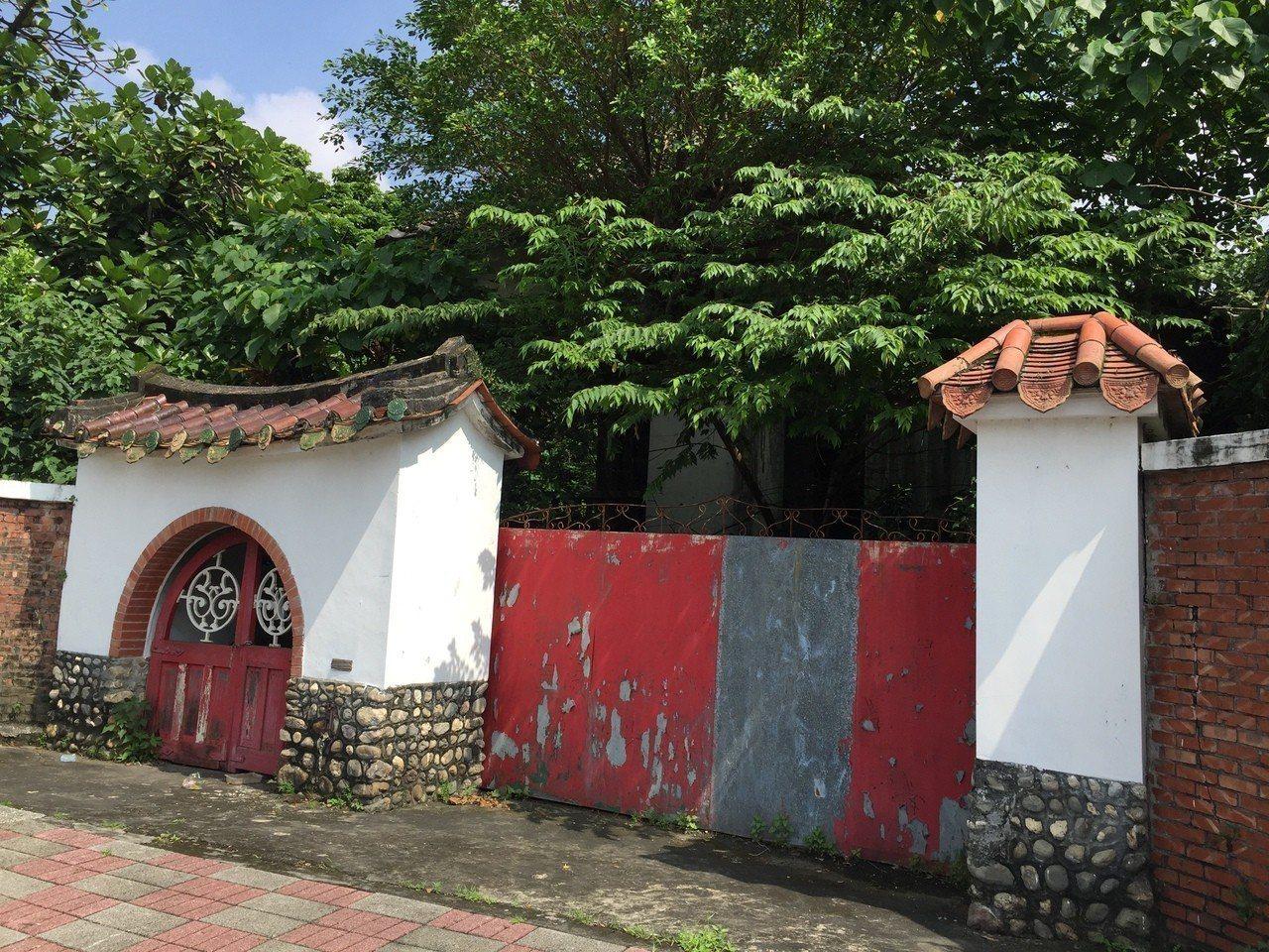 位於屏東市的李淑德舊居月內被偷三次。記者翁禎霞/攝影