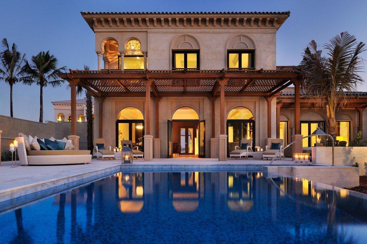 棕櫚島One&Only唯逸度假酒店僅規劃90間套房與4座別墅。圖/可樂旅遊提供