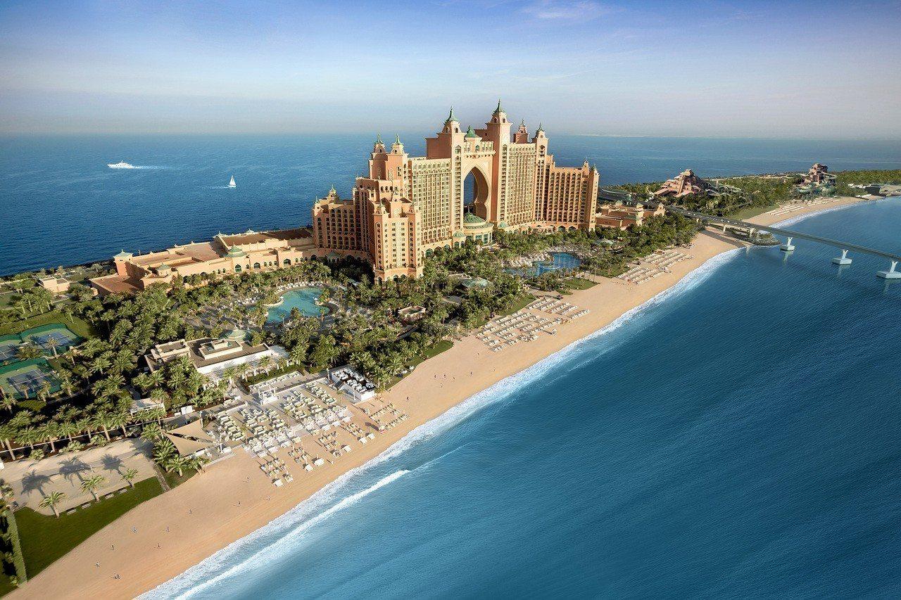 棕櫚島亞特蘭蒂斯酒店。圖/可樂旅遊提供