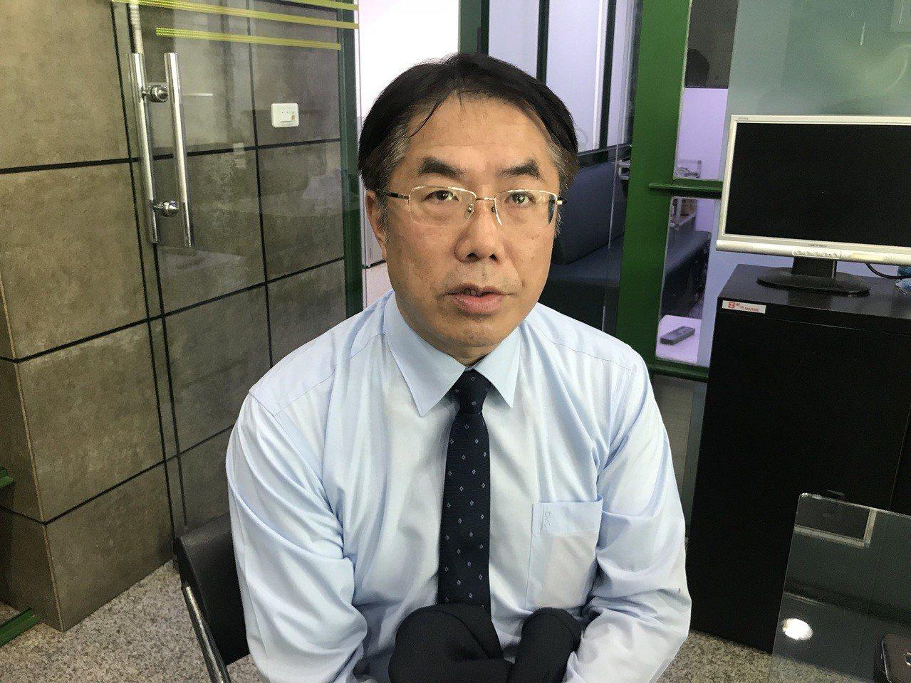 民進黨台南市長參選人黃偉哲。本報資料照片
