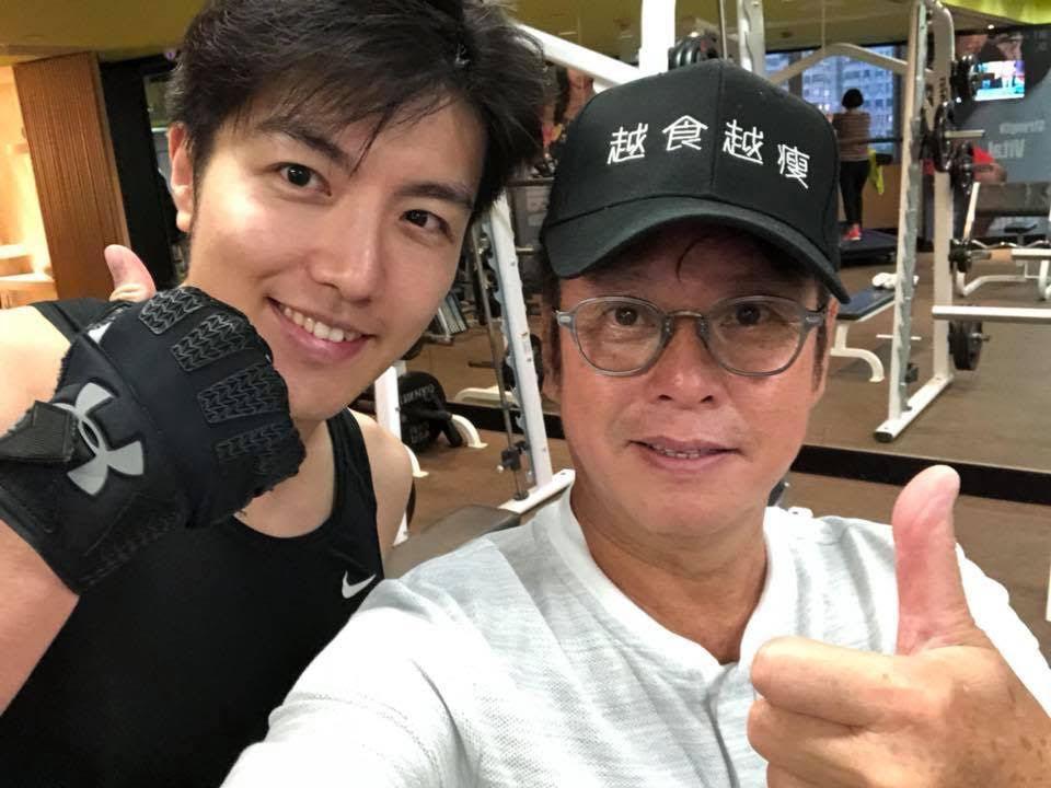 和譚詠麟一起運動的香港演員趙浚承特地從北京飛來。圖/銀魚提供