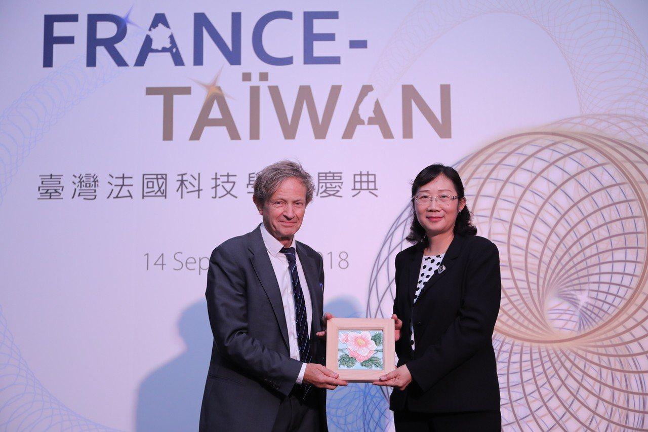 台灣法國科技學術慶典今天舉行。圖/科技部提供