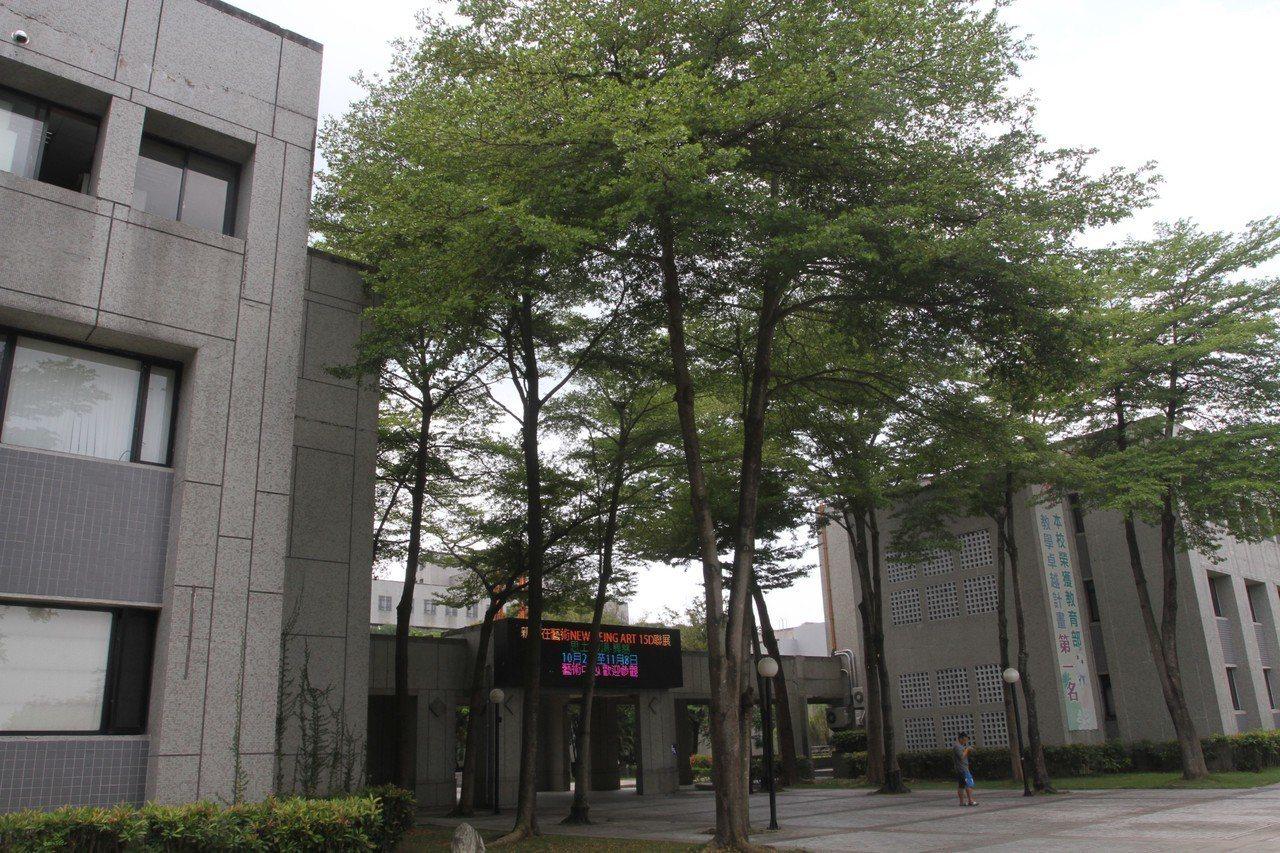 雲林科技大學昨晚傳出女學生墜樓,圖為校園空景。記者陳雅玲/攝影