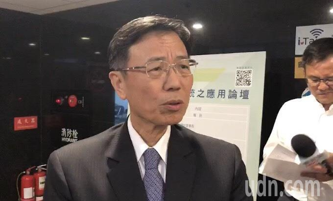 交通部政務次長張政源出席台灣軌道工程學會在交通部運研所舉辦的「大數據在軌道運輸系...