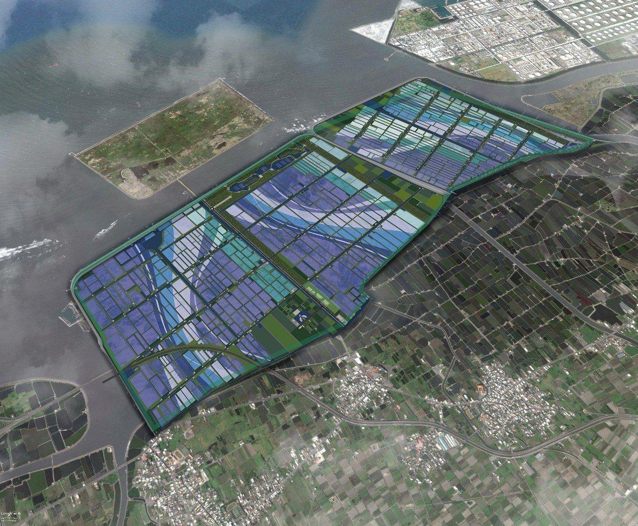 雲林縣政府推動台西綠能專區計畫。圖/雲林縣政府提供