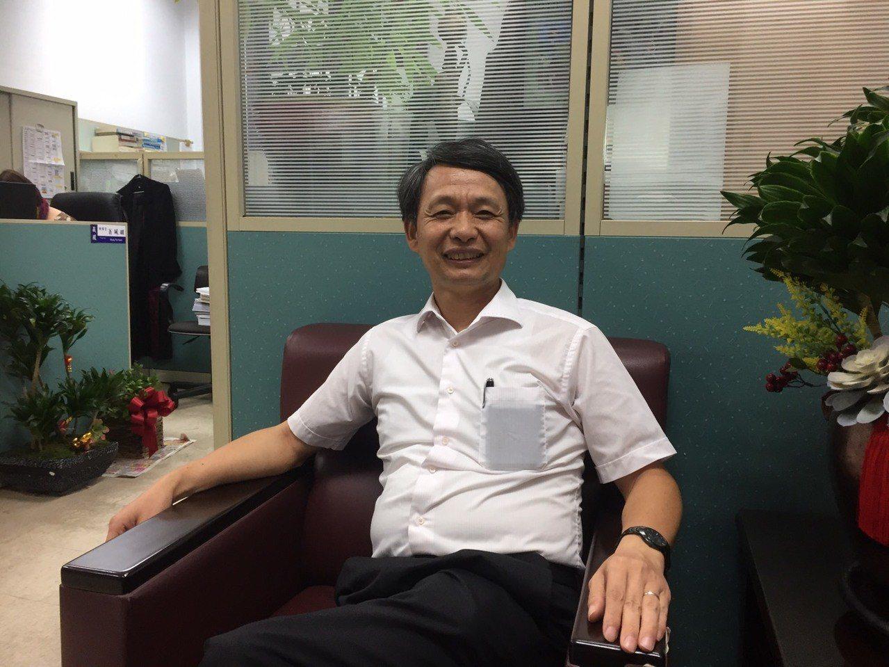 新任廉政署副署長侯寬仁今天接受專訪。記者王聖藜/攝影