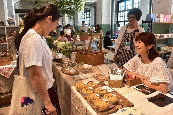 市集裡的麵包店「Amy's Food Lab」。圖/島作提供