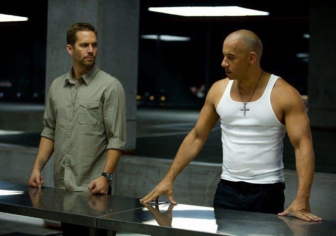 保羅沃克與馮狄索在銀幕上合作無間。圖/摘自imdb