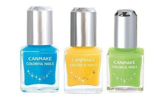CANMAKE晶燦指甲油,原價180元、0.5折特價10元。圖/美容展主辦單位提...