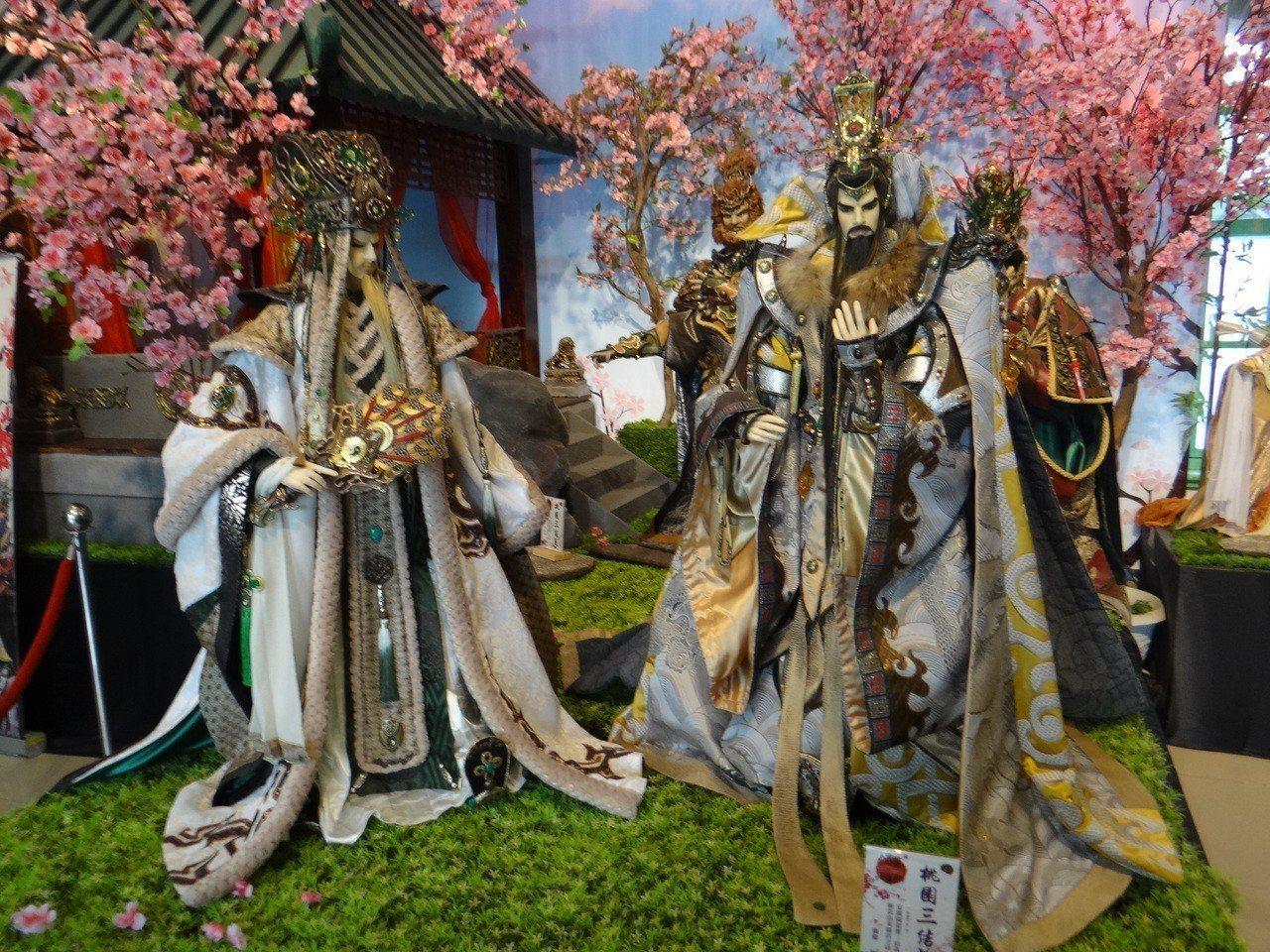 布袋戲館可一覽雲林豐富的偶戲文化。記者蔡維斌/攝影