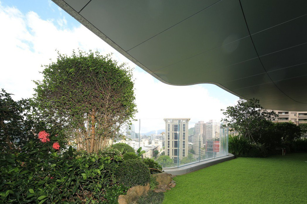 陶朱隱園以垂直森林設計聞名。圖/中工提供