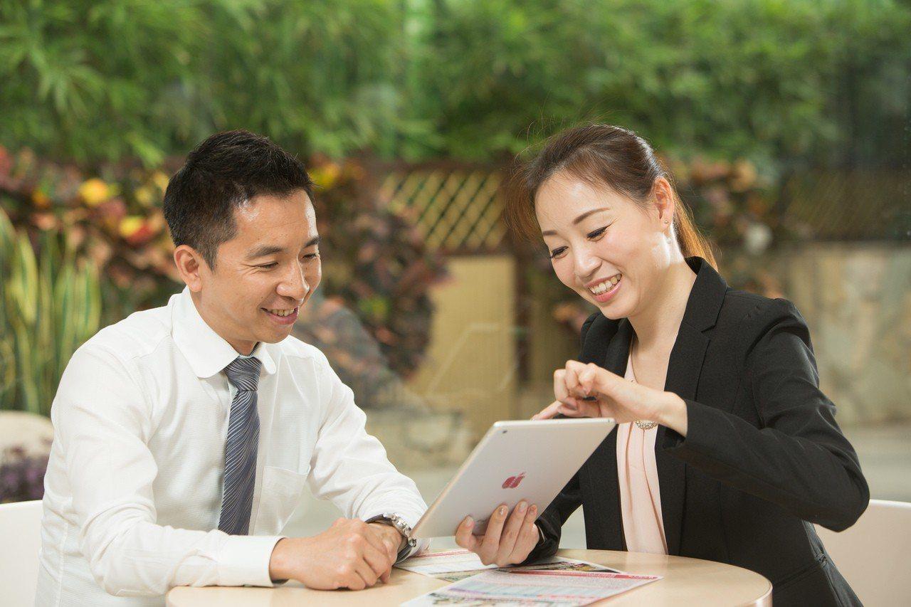 兆豐銀與中壽合作,9月中旬起獨賣中壽利變型保單。圖/中國人壽提供