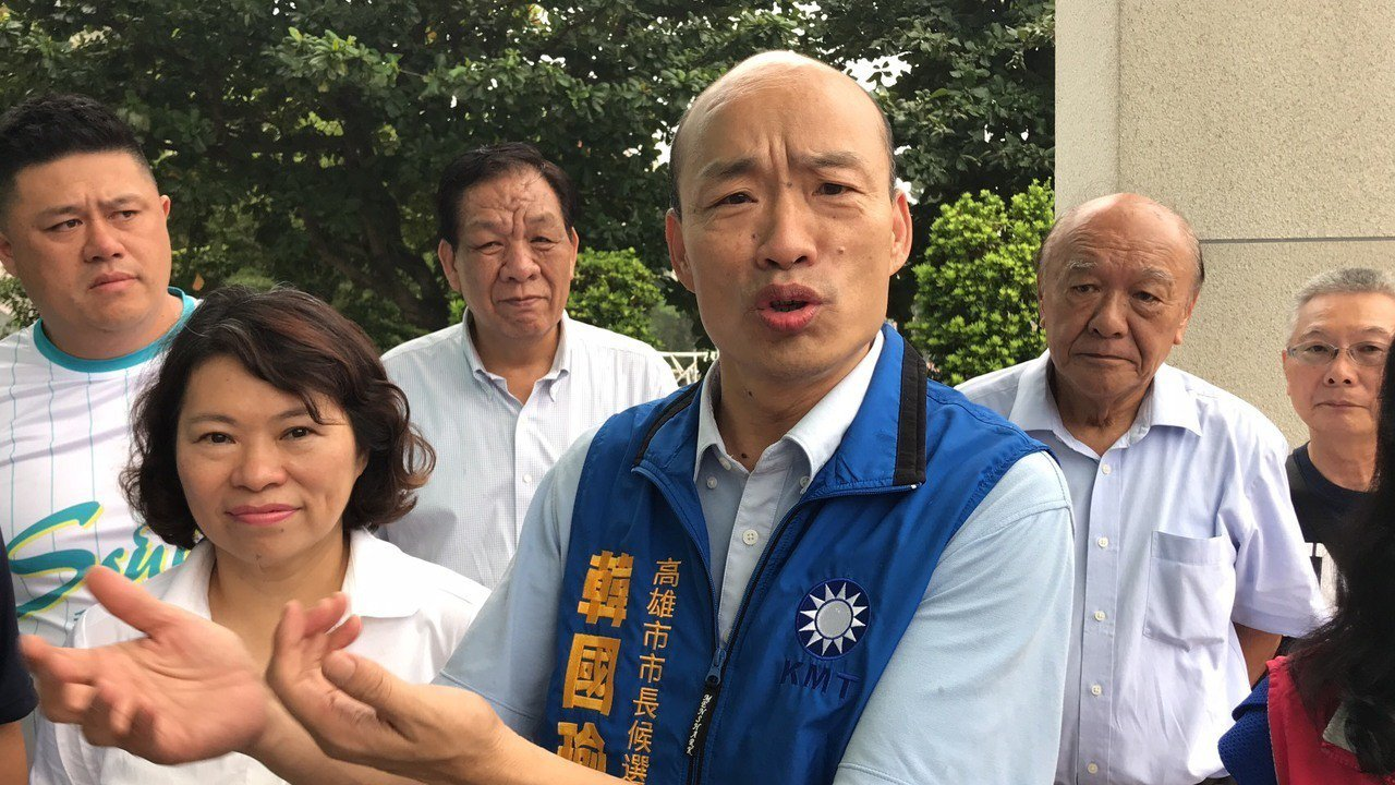 韓國瑜。聯合報系記者姜宜菁/攝影