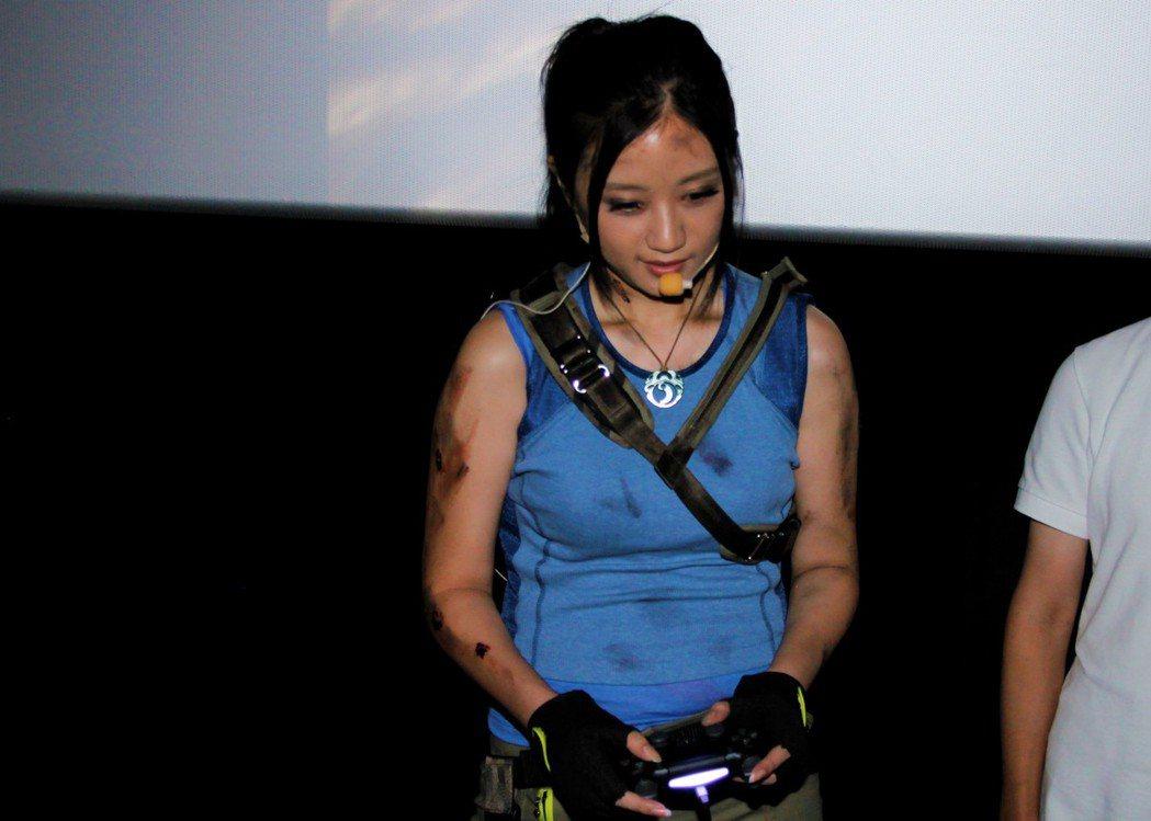 實況主葉子示範遊玩關卡。