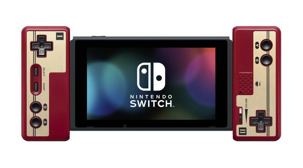 Nitendo Switch 專屬「紅白機控制器」。