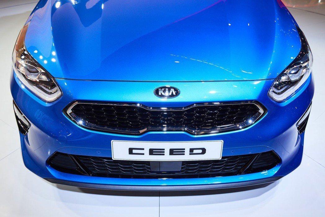 Kia Ceed車系僅限定歐洲市場。 摘自Kia