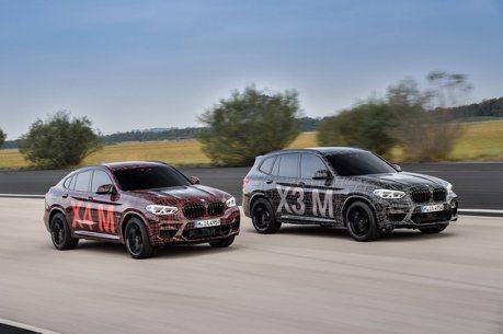 影/全新BMW X3 M、X4 M偽裝車亮相 紐柏林熱身展身手
