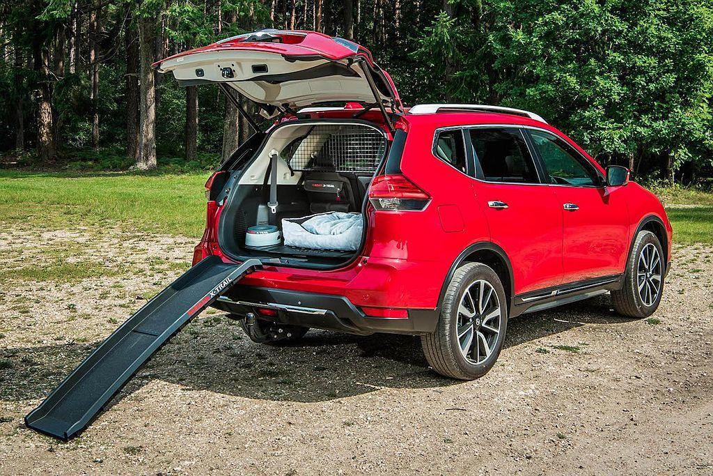去年9月Nissan在英國也推出相同的「Paw Pack」毛小孩套件,並配置在X-Trail休旅車上。 圖/Nissan提供
