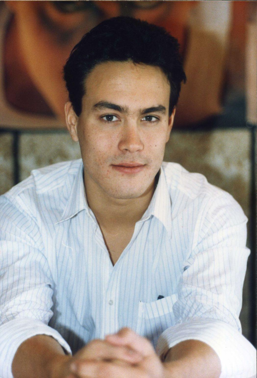 李國豪首度來台宣傳時,年輕氣盛,我行我素。圖/報系資料照片