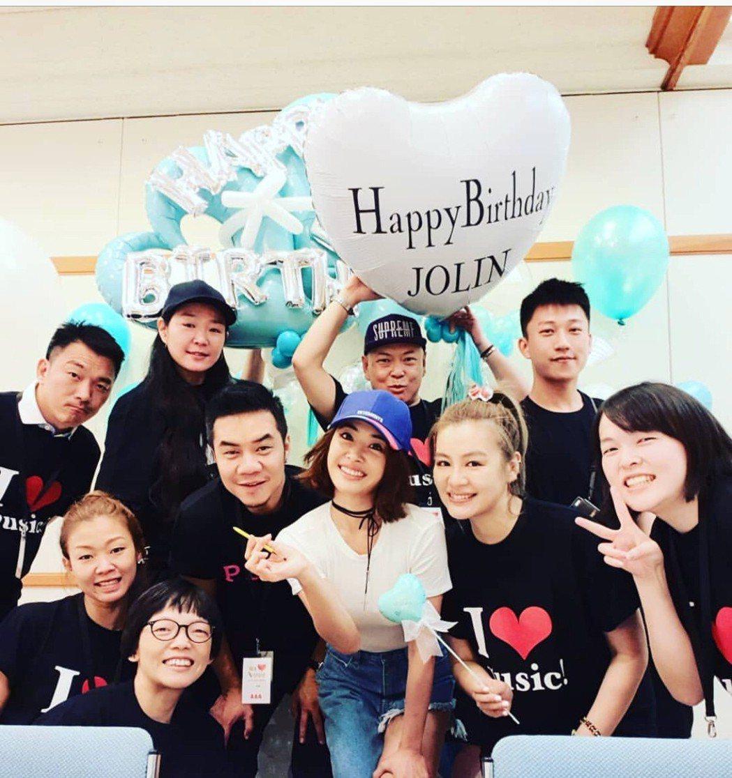 蔡依林今過38歲生日。圖/摘自IG