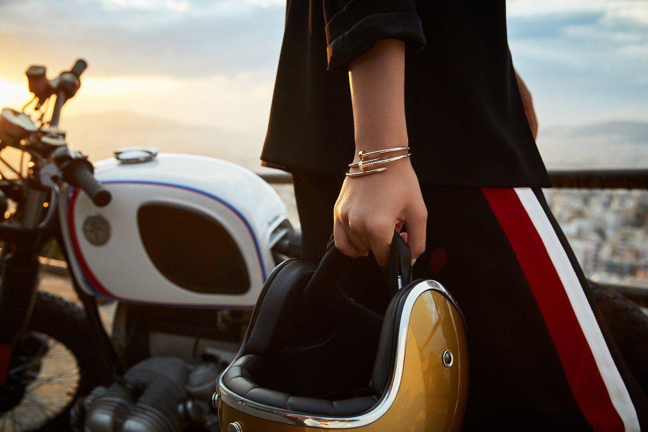 卡地亚钉子新登场窄版手镯戒指展现年轻态度