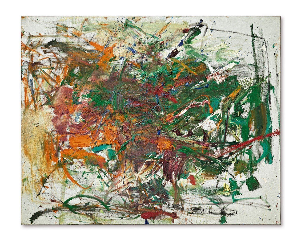 Joan Mitchell的1961年作品《賽耳底》,估價約 1.95 億元起。...