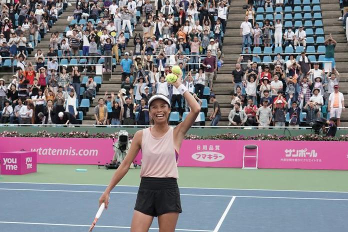 謝淑薇睽違6年在WTA女單封后。 擷圖自WTA官網
