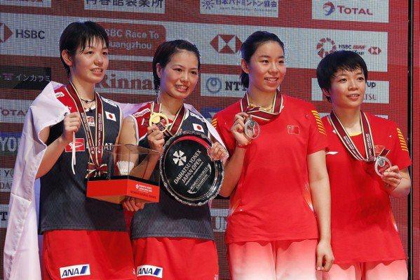 日本羽賽/地主球迷給力量 日女雙復仇登頂