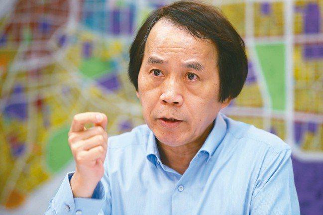 台北市副市長林欽榮。 記者曾學仁/攝影