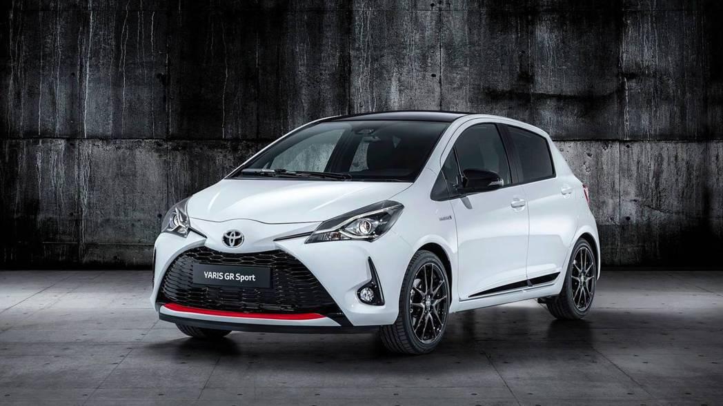 Yaris GR Sport。 摘自Toyota