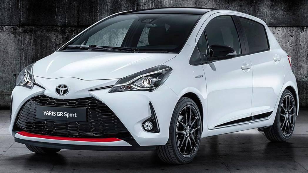 Toyota Yaris GR Sport。  摘自Toyota