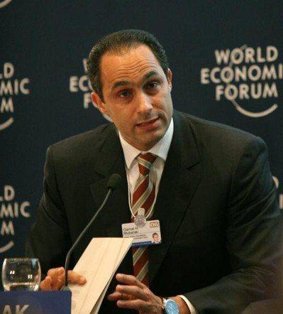 埃及前總統穆巴拉克兒子的賈邁勒遭到埃及賽西新政權政治打壓。(photo by W...